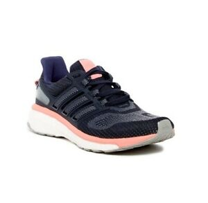 Adidas Womens Energy Boost 3 Athletic Running Shoes Purple White $49.99