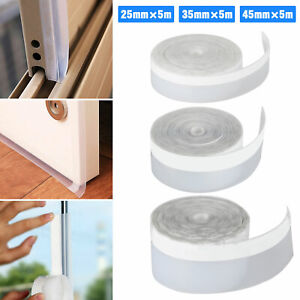 16FT Self Adhesive Weather Stripping Silicone Seal Sweep Strip for Door Window $19.47
