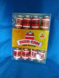 Corn On The Cob Corn Holders Beer Cans