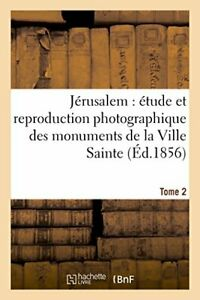 Jerusalem etude et reproduction photographique SALZMANN A $26.63