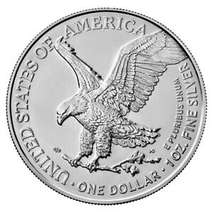 2020 American 1 oz Silver Eagle Coin 999 Fine Silver Brilliant Uncirculated $28.99