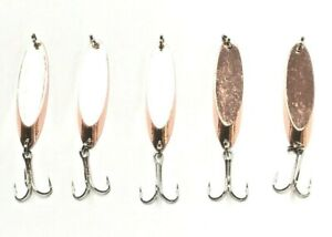 10 New Kastmaster Style 1 2 ounce Copper Spoon great for Trout amp; Bass