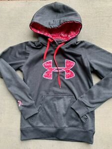 Under Armour womens UA Storm BCA Pink Hoodie size XS $17.42