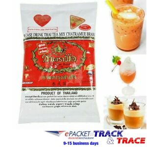 Iced Tea Mix Drink Thai Vintage Original Number One Brand Free Filter Bag Set