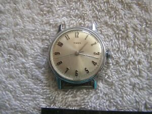 Vintage Timex Watch Numeric Dial