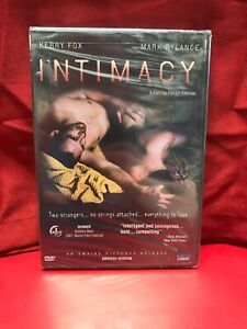 Intimacy DVD, 2004, Unrated Version Directors Cut BRAND NEW OOP RARE L@@K