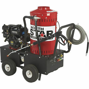 NorthStar Gas Wet Steam & Hot Water Pressure Washer 2700 PSI 2.5 GPM