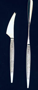AS ARTHUR SALM Stainless Japan 2 Piece Flat Ware Cheese Knife & LONG Spoon