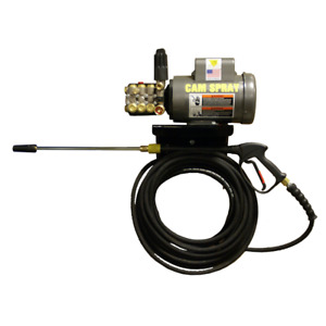 Cam Spray Professional 1450 PSI (Electric-Cold Water) Wall Mount Pressure Was...