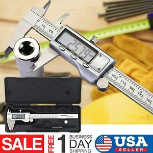Digital Caliper Vernier Micrometer Electronic Ruler Gauge Meter 150mm 6inch