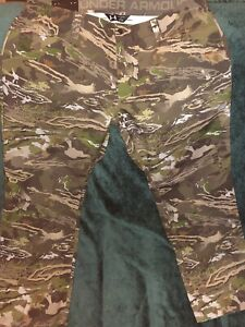 Under Armour 1263715 940 Storm Ridge Reaper Hunting Pants 40 32 Forest Camo