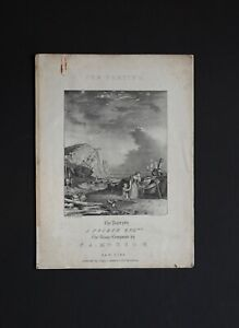 Nathaniel Currier Lithograph Sheet Music Cover quot;The Partingquot; Artist W. K. Hewitt $75.00
