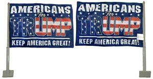 Americans For Trump Blue 100D Rough Tex Knit Double Sided 11