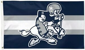 Dallas Cowboys Retro Throwback NFL Football Flag 3x5 ft Sports Banner Man Cave