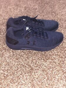 Under Armour Men's Sz10.5 Charged Rogue Twist Ice Running Shoes Navy 3022674 400 $84.99