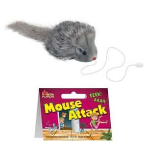 Mouse Rat Attack Funny Practical Joke Gag Gift Prank Novelty Trick Decor