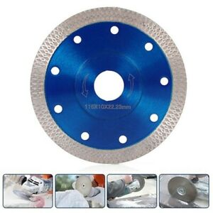 4.5'' Thin Rim Turbo Diamond Ceramic Tile Cutting Blade Disc Angle Grinder TOP