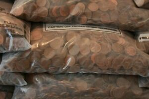 10 Pounds of US Copper Pennies 1909 1982