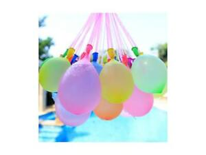 222 pcs 6 Bunch of Instant water Balloons, Self Sealing, pre tied water balloon