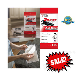 Tomcat Glue Boards with Eugenol, Effective Traps To Capture Mice And Insects