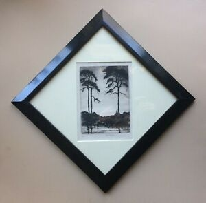 John McGrath (1884-1942) Signed Etching