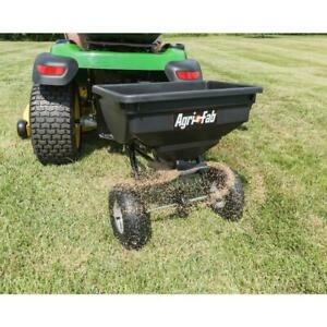 Fertilizer Seed Spreader Tow Behind For Lawn Mower ATV Tractor