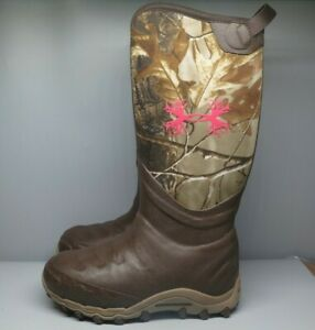 Under Armour Women's Haw 800G Hunting Boot Realtree Ap-Xtra NWT Camo 1230874-340