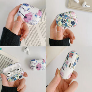 Cute Airpods Box Girls Women Floral Rubber Silicone For AirPods Pro Case Cover