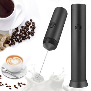 Electric Milk Frother Drink Foamer Coffee Egg Beater Latte Whisk Mixer Stirrer