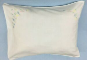 Cotton hand Embroidered Floral Pillow Case 12