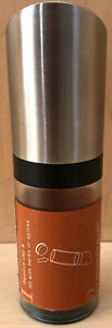 Herb and Spice Mill with Ceramic Grinder Stainless and Acrylic FREE Shipping