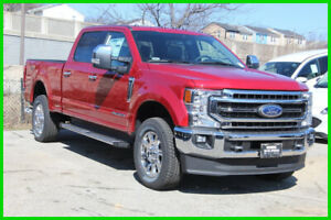 2020 Ford F-250 Lariat 2020 Lariat New Turbo 6.7L V8 32V Automatic 4WD Pickup Truck Moonroof