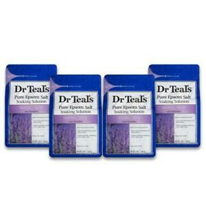 Dr Teal's Pure Epson Salt Soaking Solution Soothe amp; Sleep w Lavender 4 3lbs $59.99