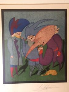 Mihail Chemiakin quot;Carnival Seriesquot; Ltd Ed Signed amp; Numbered 151 300 $695.00