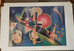 Wassily KANDINSKY IN BLUE Original Portal Publications LITHOGRAPH Print $40.00