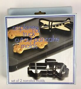 Pancake Molds- Amco Airplane&Truck Cut-outs.Brand New,Sealed Wrapper(J70)