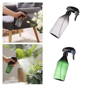 2pcs Plastic Spray Bottle Water Pump Sprayer For Plants Pet Cleaning Salon Hair