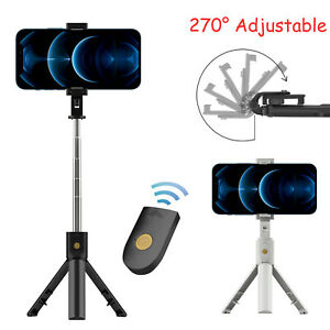 Remote Selfie Stick Tripod Phone Desktop Stand Desk Holder For iPhone Samsung US