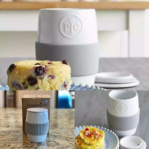Pampered Chef Ceramic Egg Cooker Muffin Breakfast NEW IN BOX!
