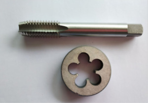 1pc HSS M14 X 1mm Plug Right Tap and 1pc M14 X 1mm Right Die Threading Tool $12.99