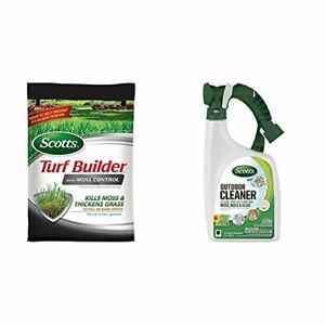 25 LB Turf Builder w/ Moss Control Outdoor Cleaner Plus Oxi Clean Ready-to-Spray