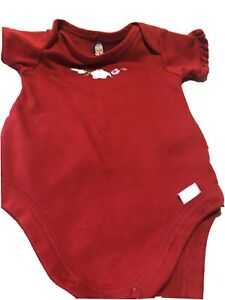 Gerber One Piece Baby Under Garment 0 3 Months Red $12.99