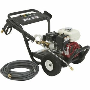NorthStar Gas Cold Water Pressure Washer - 2.5 GPM 3100 PSI Model# 157122