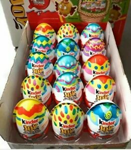 Kinder Joy Surprise Eggs and Toy Chocolate Cocoa Cream Wafers Candy 10 Count