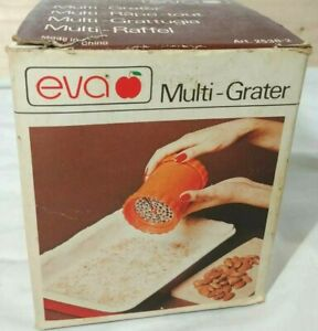Multi Grater Manual Stainless Steel Blades Vintage