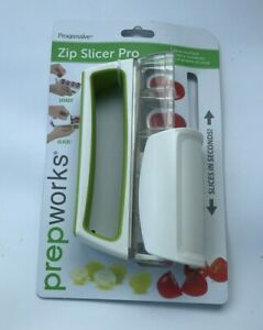Progressive Prepworks Zip Slicer, Perfect for Cherry Tomatoes, And Grapes!