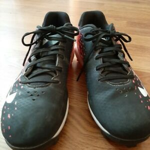 Under armour Girls Softball Cleats. 5 Youth. Pink,black,white. EUC. $7.80