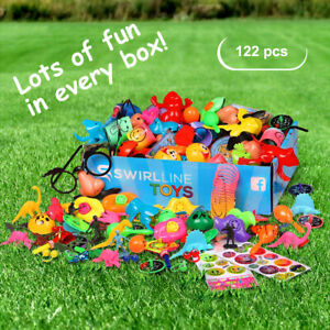 120pcs Party Favors for Kids Carnival Prizes Boys Girls Bulk Toys Assortment