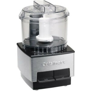 Cuisinart DLC 1SSFR Mini Prep Food Processor Brushed Metal