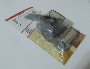NEW Cuisipro 2 Drum Etched Rotary Cheese Grater Set